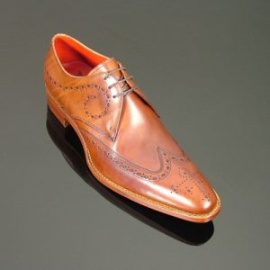 Jeffery West Brilleaux Wing Gibson Rosewood Polish Shoes front