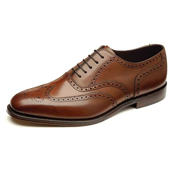 Buckingham Brown Leather Shoes