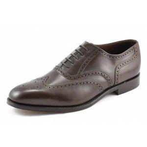 Buckingham Dark Brown Leather Shoes