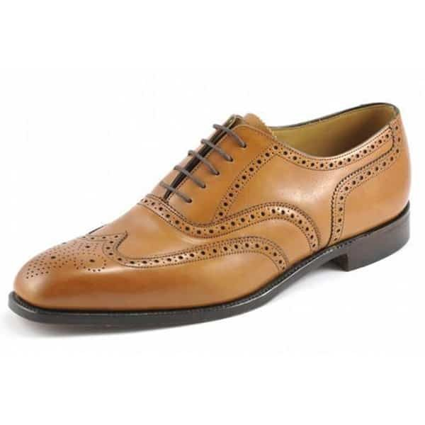 Buckingham Tan Leather Shoes
