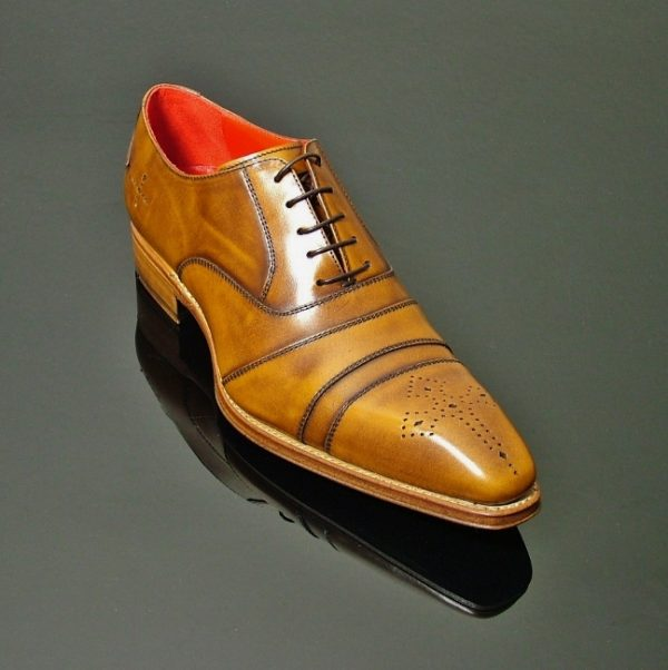 Moon Melrose Cross Punch Oxford 1