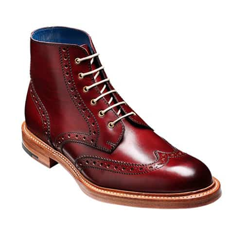 Barker Red Leather Shoes