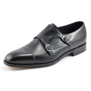 Canon Black Leather Shoes