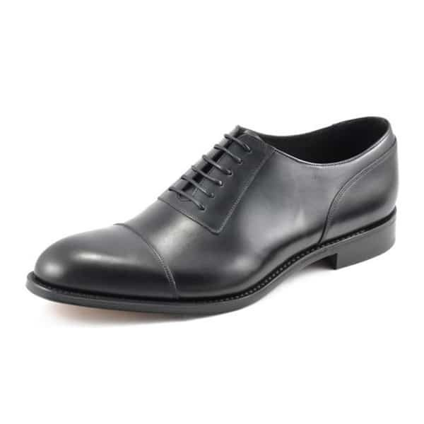 Churchill Black Leather Shoes
