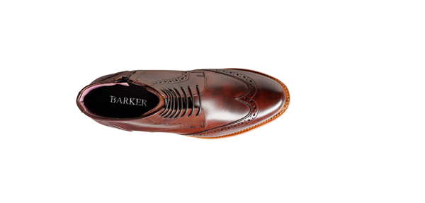 barker Faye Walnut Calf top