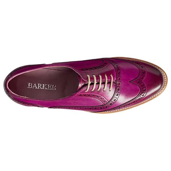 Fearne Purple 3 Leather Shoes