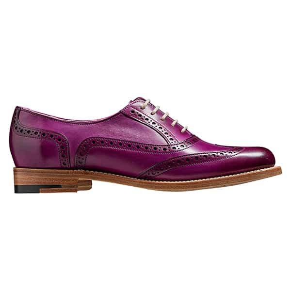 Fearne Purple 2 Leather Shoes