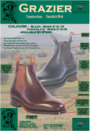 grazier ladies boots