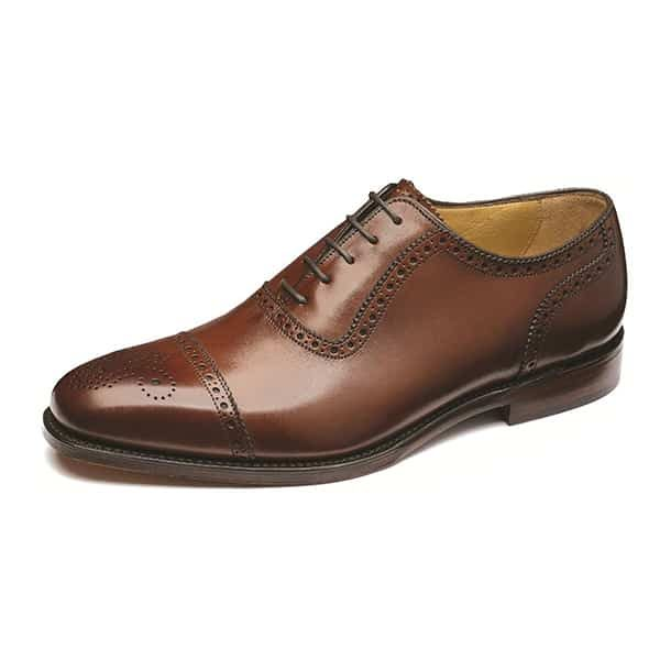Strand Mahogany Leather Shoes