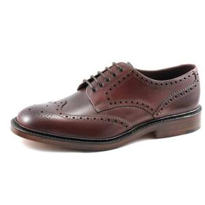 Chester Mahogany Leather Shoes
