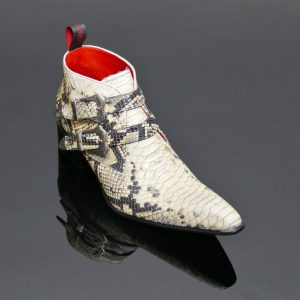 Rochester Deadwood White Shoe