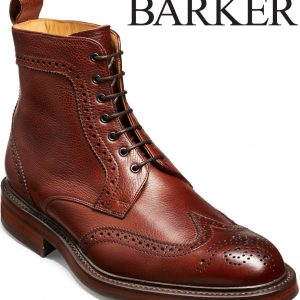 Calder – Cherry Grain Shoe