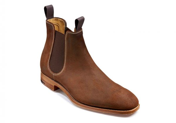 Mansfield Mid Brown Waxy Suede