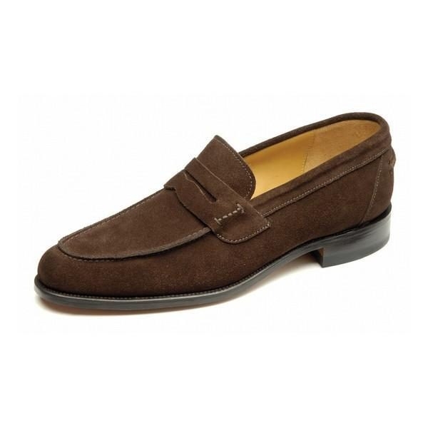 loake 256 brown suede